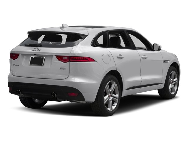 2017 Jaguar F-PACE Base Price 35t R-Sport AWD Pricing side rear view