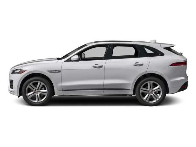 2017 Jaguar F-PACE Prices and Values Utility 4D 35t R-Sport AWD V6 side view