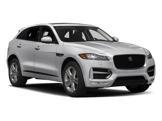 2017 Jaguar F-PACE Prices and Values Utility 4D 35t R-Sport AWD V6 side front view