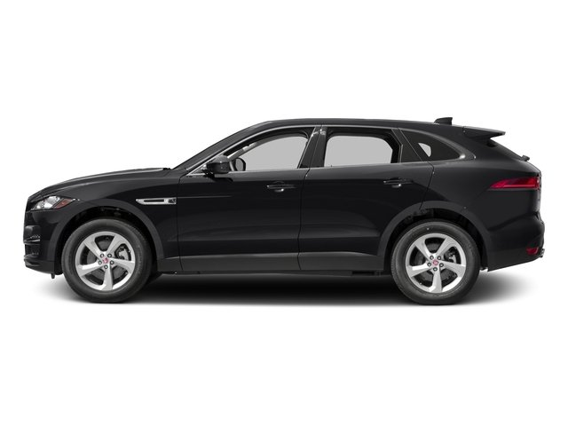 2017 Jaguar F-PACE Prices and Values Utility 4D 35t AWD V6 side view