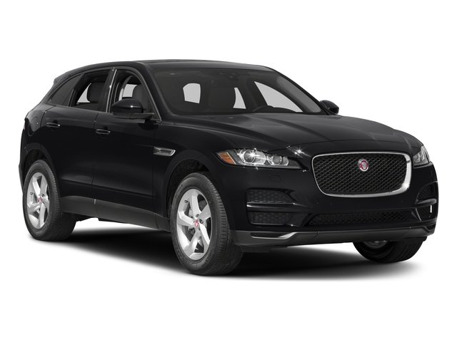 2017 Jaguar F-PACE Prices and Values Utility 4D 35t Prestige AWD V6 side front view