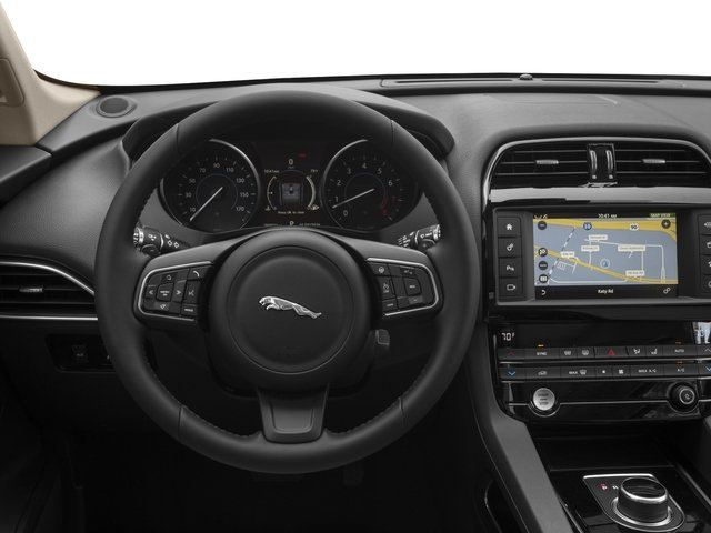 2017 Jaguar F-PACE Prices and Values Utility 4D 35t AWD V6 driver's dashboard