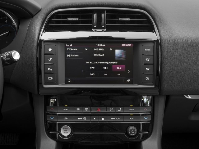 2017 Jaguar F-PACE Base Price 35t Prestige AWD Pricing stereo system