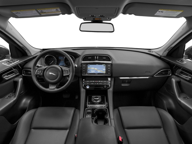2017 Jaguar F-PACE Base Price 20d Premium AWD Pricing full dashboard