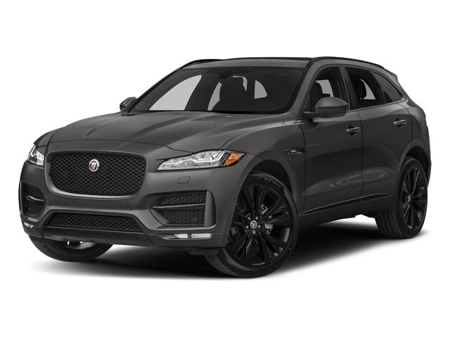 2017 Jaguar F-PACE Prices and Values Utility 4D 20d R-Sport AWD I4 T-Dsl side front view