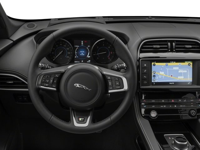 2017 Jaguar F-PACE Prices and Values Utility 4D 20d R-Sport AWD I4 T-Dsl driver's dashboard