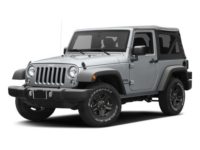 2017 Jeep Wrangler Pictures Wrangler Sport 4x4 photos side front view