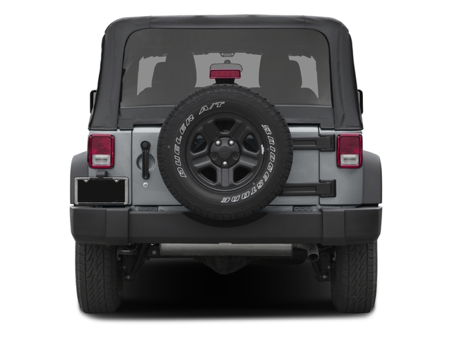 2017 Jeep Wrangler Pictures Wrangler Freedom 4x4 *Ltd Avail* photos rear view