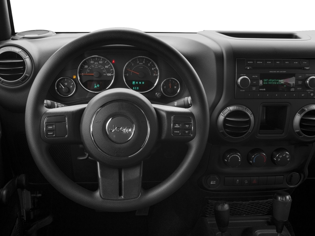 2017 Jeep Wrangler Pictures Wrangler Freedom 4x4 *Ltd Avail* photos driver's dashboard