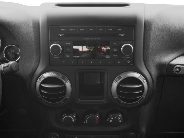 2017 Jeep Wrangler Pictures Wrangler Sport 4x4 photos stereo system