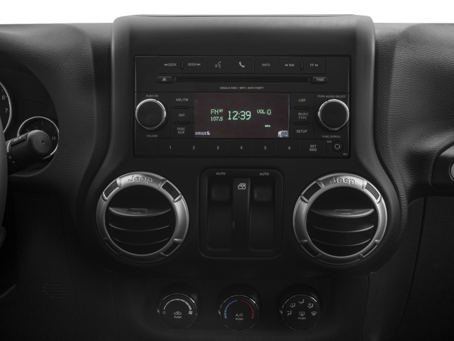2017 Jeep Wrangler Base Price Winter 4x4 *Ltd Avail* Pricing stereo system