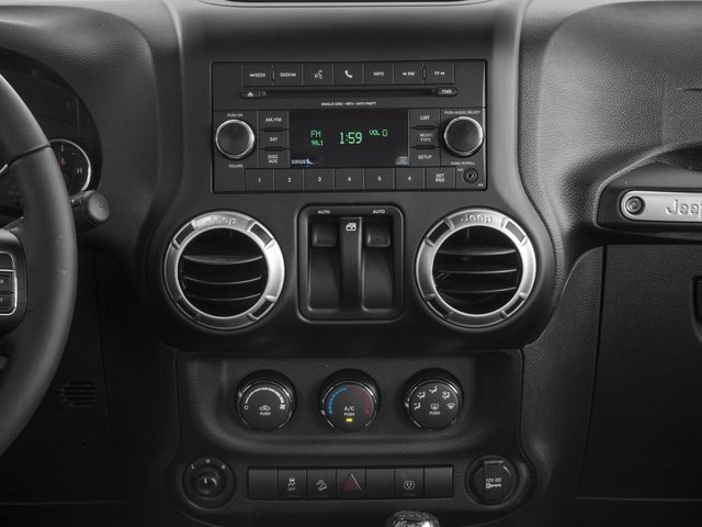 2017 Jeep Wrangler Base Price Rubicon Recon 4x4 Pricing stereo system
