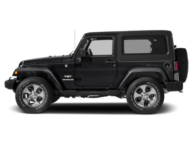 2017 Jeep Wrangler Pictures Wrangler Utility 2D Sahara 4WD V6 photos side view