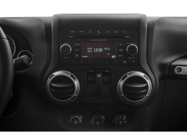 2017 Jeep Wrangler Prices and Values Utility 2D Sahara 4WD V6 stereo system
