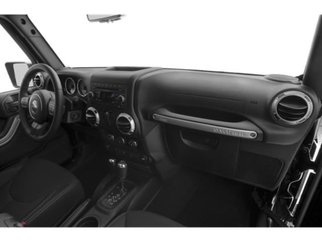 2017 Jeep Wrangler Prices and Values Utility 2D Sahara 4WD V6 passenger's dashboard