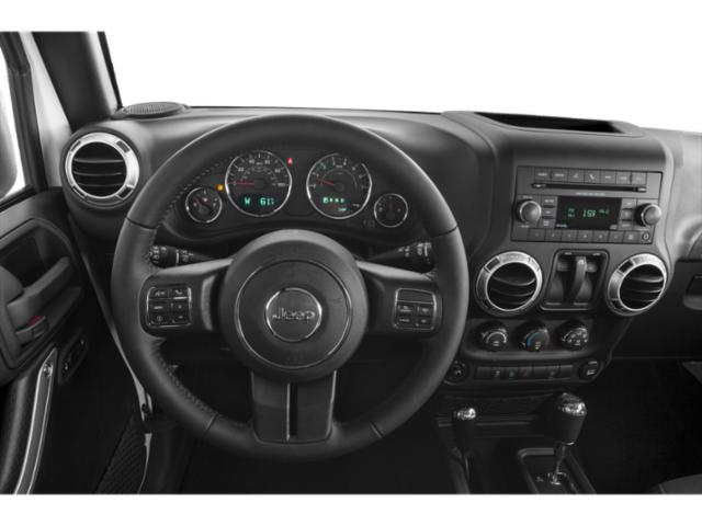 2017 Jeep Wrangler Prices and Values Utility 2D Rubicon Recon 4WD V6 driver's dashboard