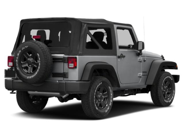 2017 Jeep Wrangler Prices and Values Utility 2D Rubicon Recon 4WD V6 side rear view