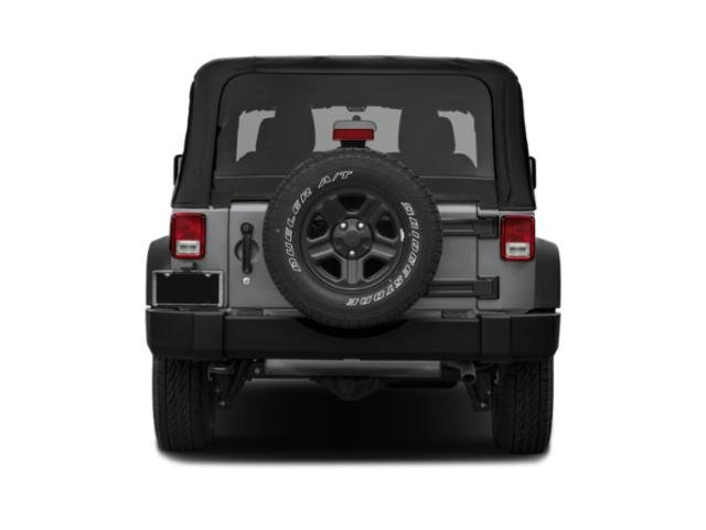 2017 Jeep Wrangler Prices and Values Utility 2D Rubicon Recon 4WD V6 rear view