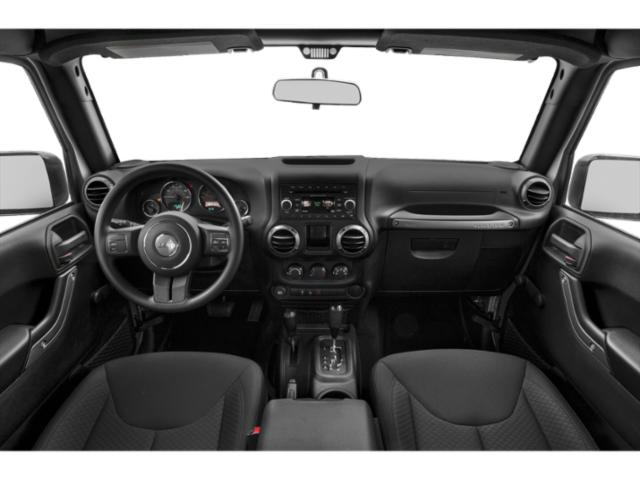 2017 Jeep Wrangler Prices and Values Utility 2D Rubicon Recon 4WD V6 full dashboard