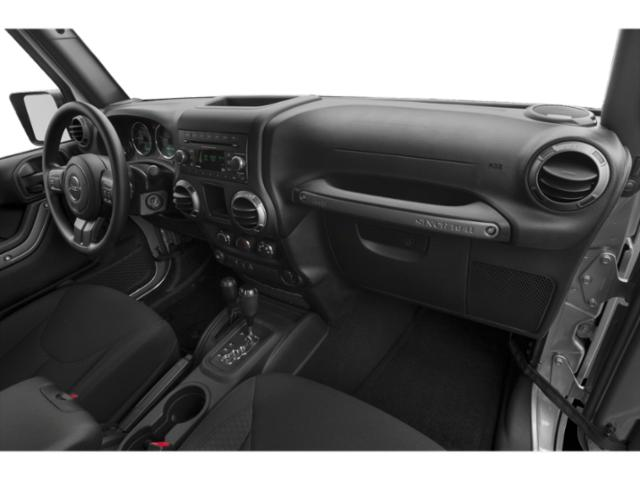 2017 Jeep Wrangler Prices and Values Utility 2D Rubicon Recon 4WD V6 passenger's dashboard
