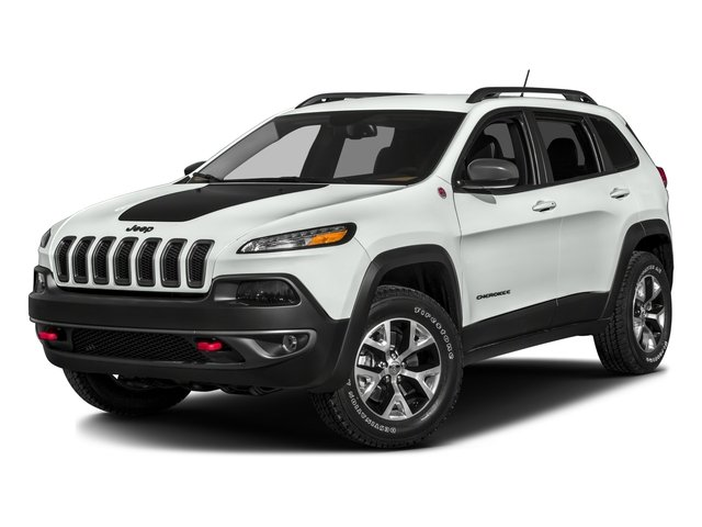 2017 Jeep Cherokee Pictures Cherokee Trailhawk 4x4 *Ltd Avail* photos side front view