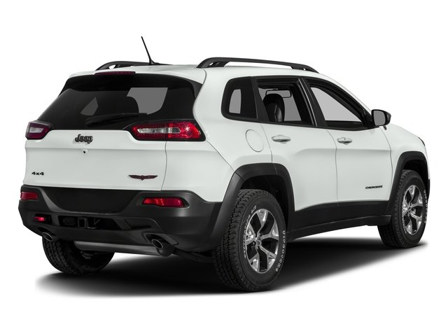 2017 Jeep Cherokee Pictures Cherokee Trailhawk 4x4 *Ltd Avail* photos side rear view