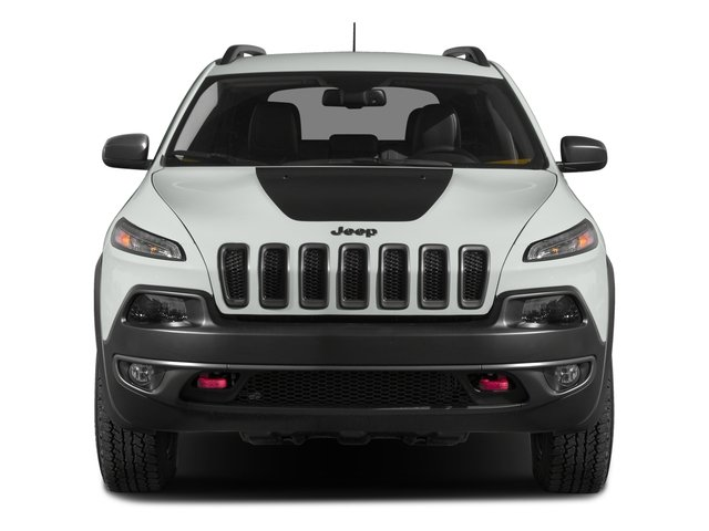 2017 Jeep Cherokee Pictures Cherokee Trailhawk 4x4 *Ltd Avail* photos front view