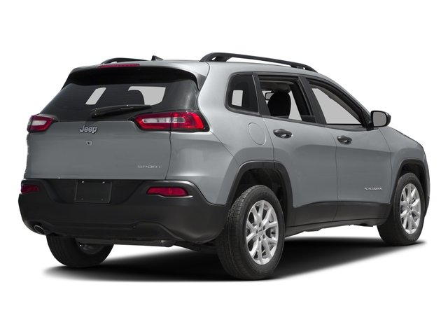 2017 Jeep Cherokee Pictures Cherokee Sport 4x4 photos side rear view