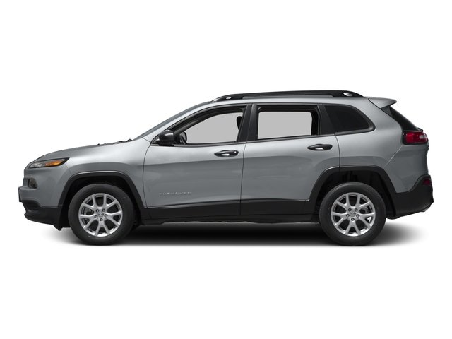 2017 Jeep Cherokee Pictures Cherokee Utility 4D Sport 2WD photos side view