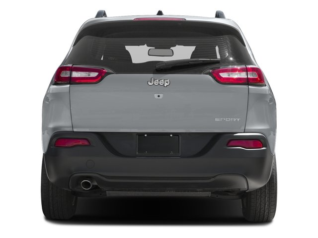 2017 Jeep Cherokee Pictures Cherokee Sport 4x4 photos rear view