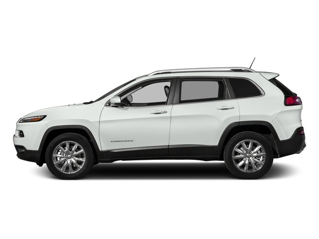 2017 Jeep Cherokee Prices and Values Utility 4D High Altitude 4WD side view