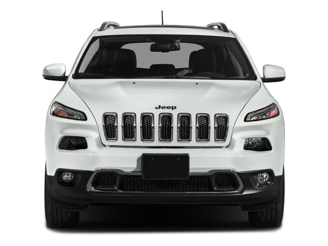2017 Jeep Cherokee Prices and Values Utility 4D High Altitude 4WD front view