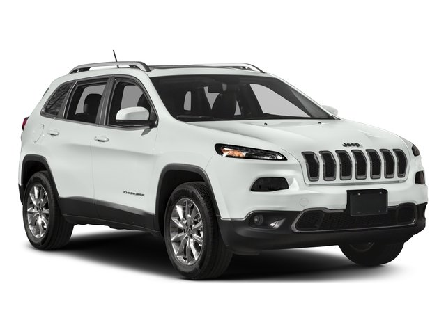2017 Jeep Cherokee Prices and Values Utility 4D High Altitude 4WD side front view