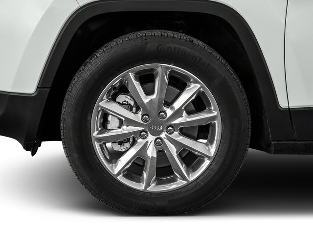 2017 Jeep Cherokee Prices and Values Utility 4D High Altitude 4WD wheel
