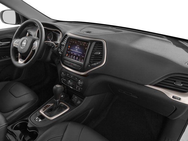 2017 Jeep Cherokee Prices and Values Utility 4D L Plus 4WD passenger's dashboard