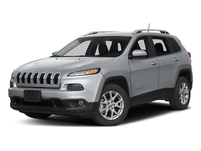 2017 Jeep Cherokee Prices and Values Utility 4D Latitude 4WD side front view