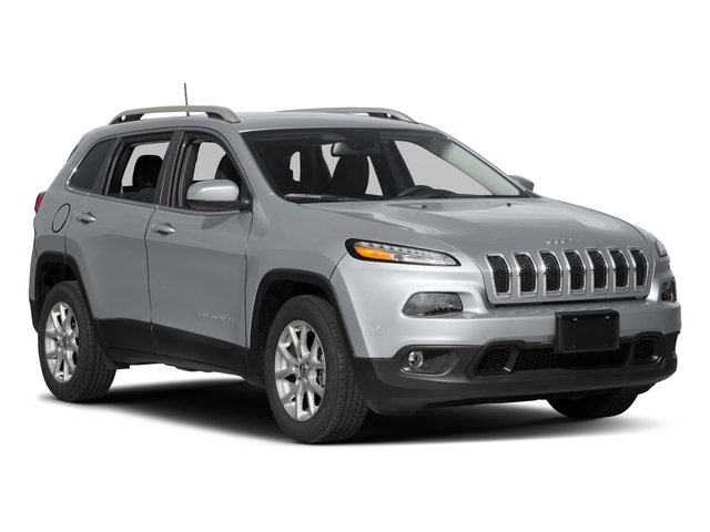 2017 Jeep Cherokee Prices and Values Utility 4D Latitude 2WD side front view