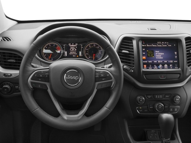 2017 Jeep Cherokee Prices and Values Utility 4D Latitude 2WD driver's dashboard