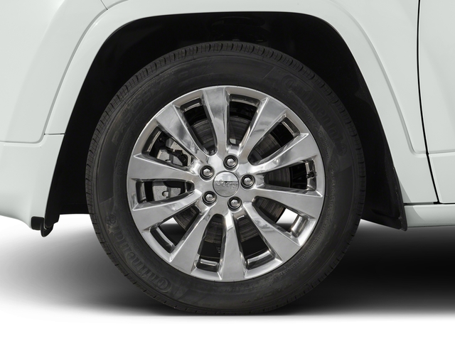 2017 Jeep Cherokee Pictures Cherokee Utility 4D Overland 4WD photos wheel