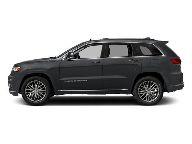2017 Jeep Grand Cherokee Pictures Grand Cherokee Utility 4D Summit 4WD T-Dsl photos side view
