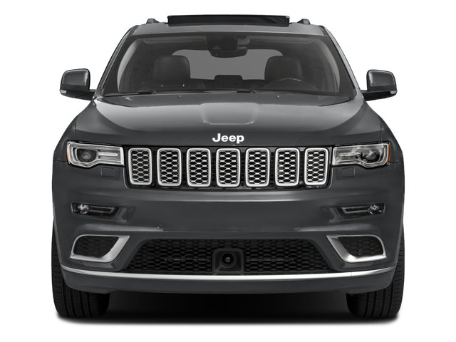 2017 Jeep Grand Cherokee Pictures Grand Cherokee Utility 4D Summit 4WD T-Dsl photos front view