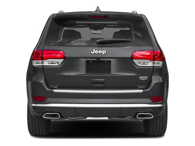 2017 Jeep Grand Cherokee Pictures Grand Cherokee Utility 4D Summit 4WD T-Dsl photos rear view