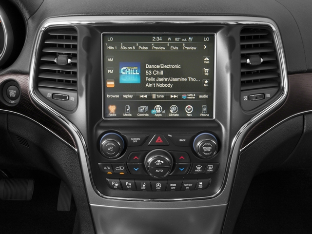 2017 Jeep Grand Cherokee Pictures Grand Cherokee Summit 4x2 photos stereo system