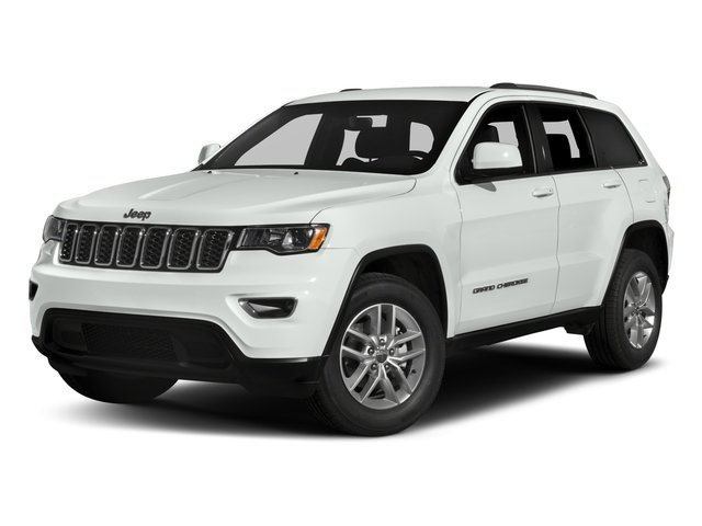 2017 Jeep Grand Cherokee Pictures Grand Cherokee Utility 4D Laredo 4WD photos side front view