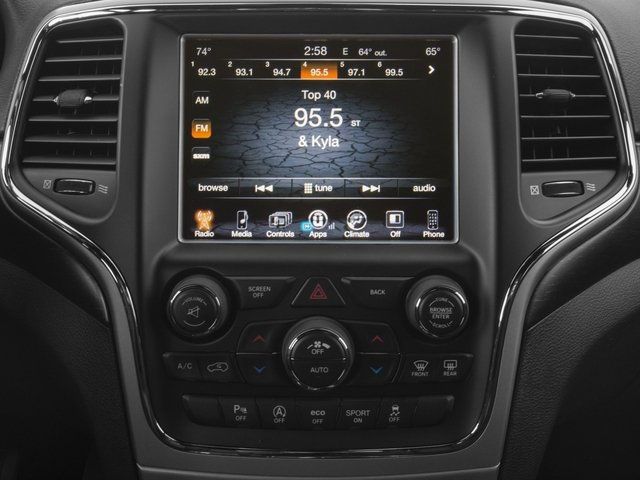 2017 Jeep Grand Cherokee Base Price Altitude 4x2 *Ltd Avail* Pricing stereo system