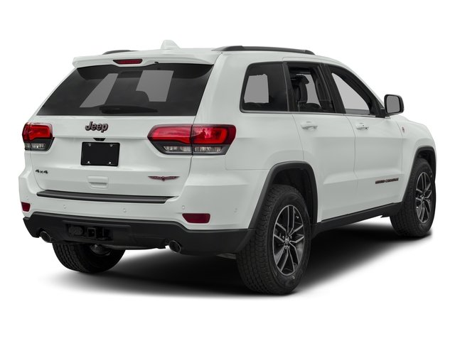2017 Jeep Grand Cherokee Pictures Grand Cherokee Utility 4D Trailhawk 4WD photos side rear view