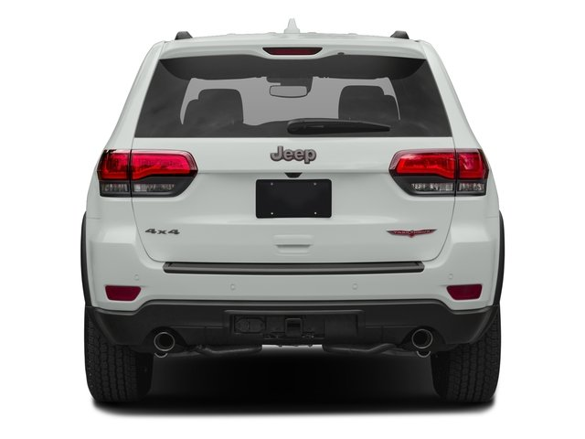 2017 Jeep Grand Cherokee Pictures Grand Cherokee Utility 4D Trailhawk 4WD photos rear view
