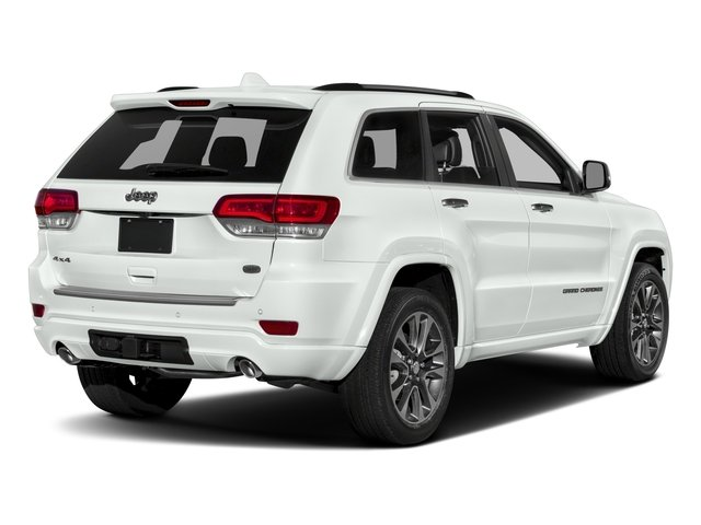 2017 Jeep Grand Cherokee Pictures Grand Cherokee Utility 4D Overland 2WD photos side rear view