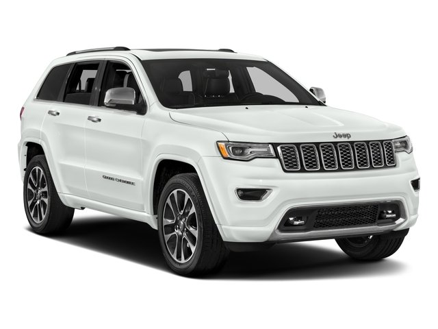 2017 Jeep Grand Cherokee Prices and Values Utility 4D Overland 2WD T-Dsl side front view