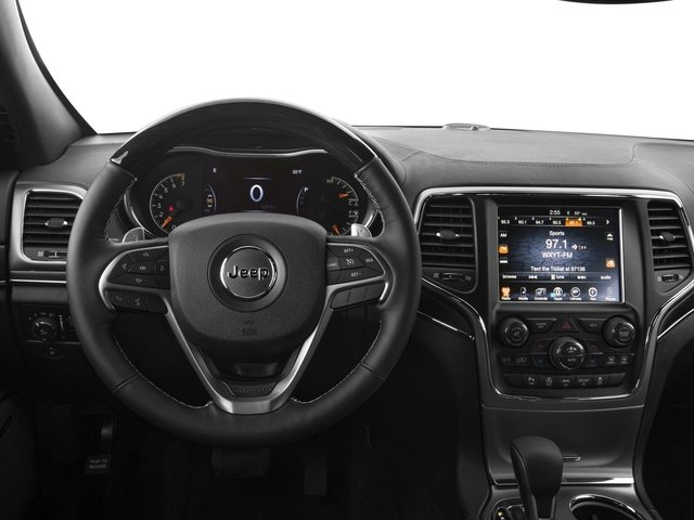 2017 Jeep Grand Cherokee Base Price Overland 4x2 Pricing driver's dashboard